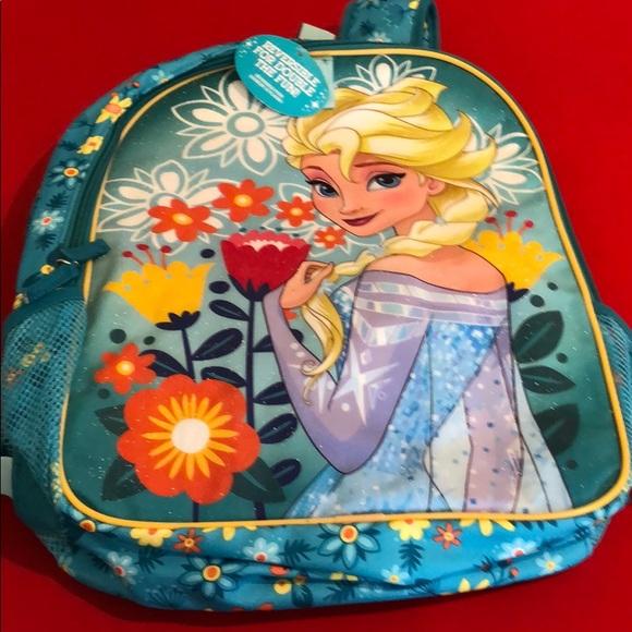 Disney Handbags - DISNEY REVERSIBLE ANNA/ELSA BACKPACK. NWT
